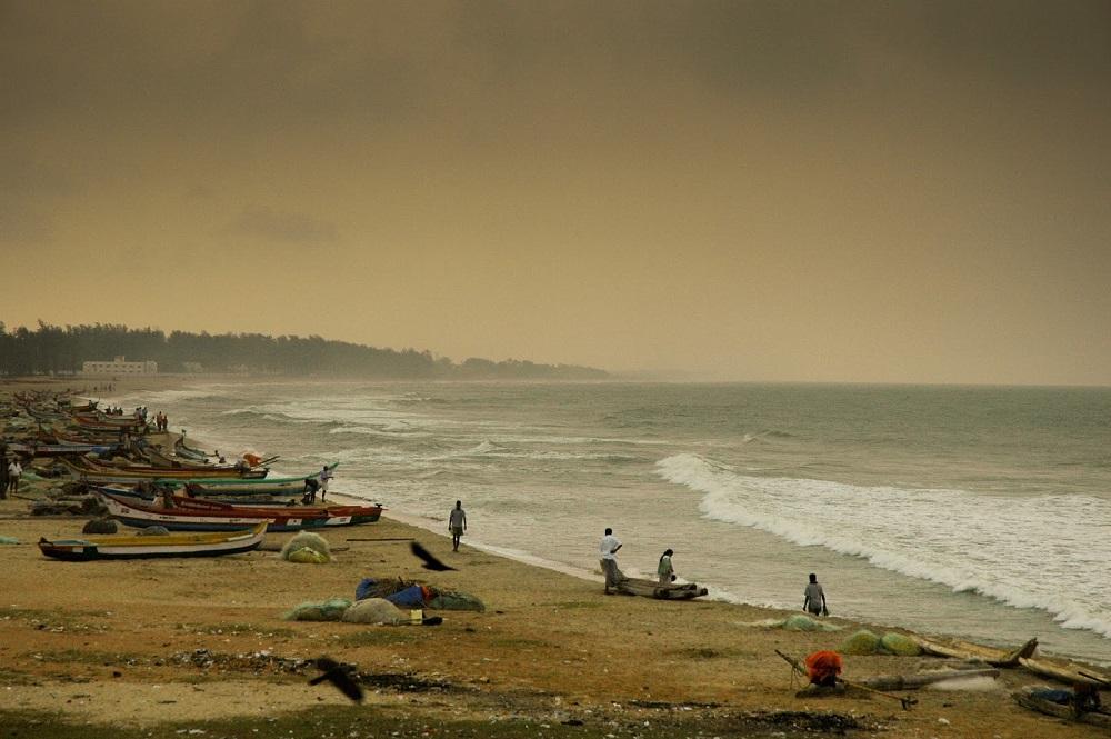 ساحل ماها بالی پورام در تامیل نادو هند