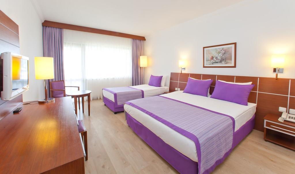اتاق های هتل سنتیدو زینپ آنتالیا