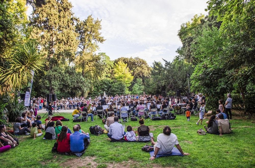 امکانات رفاهی باغ ملی آتن یونان