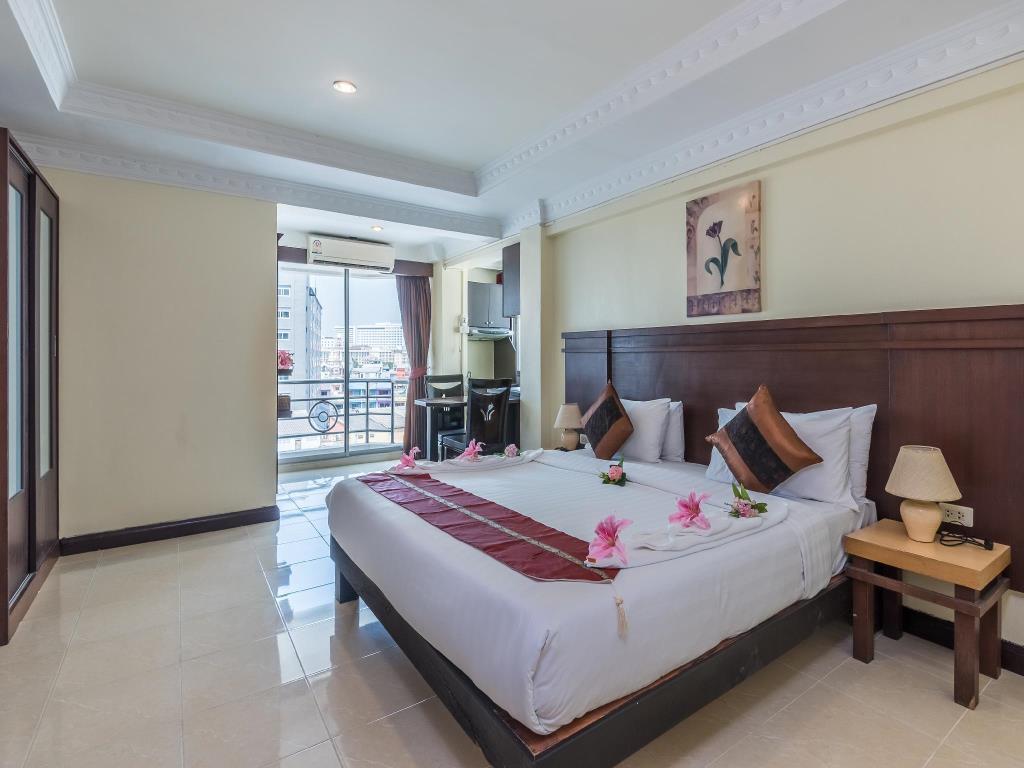 اتاق هتل سیوالای سیتی پاتایا تایلند