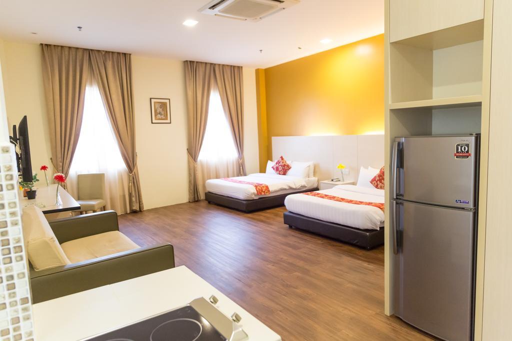 اتاق های هتل سندپایپر کوالالامپور