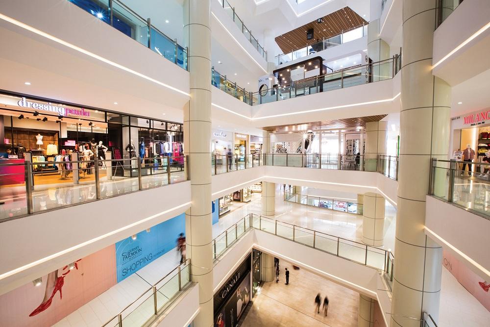 فروشگاه های مرکز خرید گرنی پاراگون مالزی