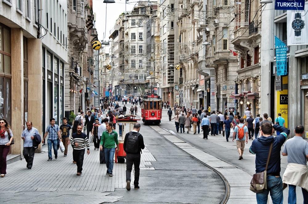 5- خیابان استقلال استانبول