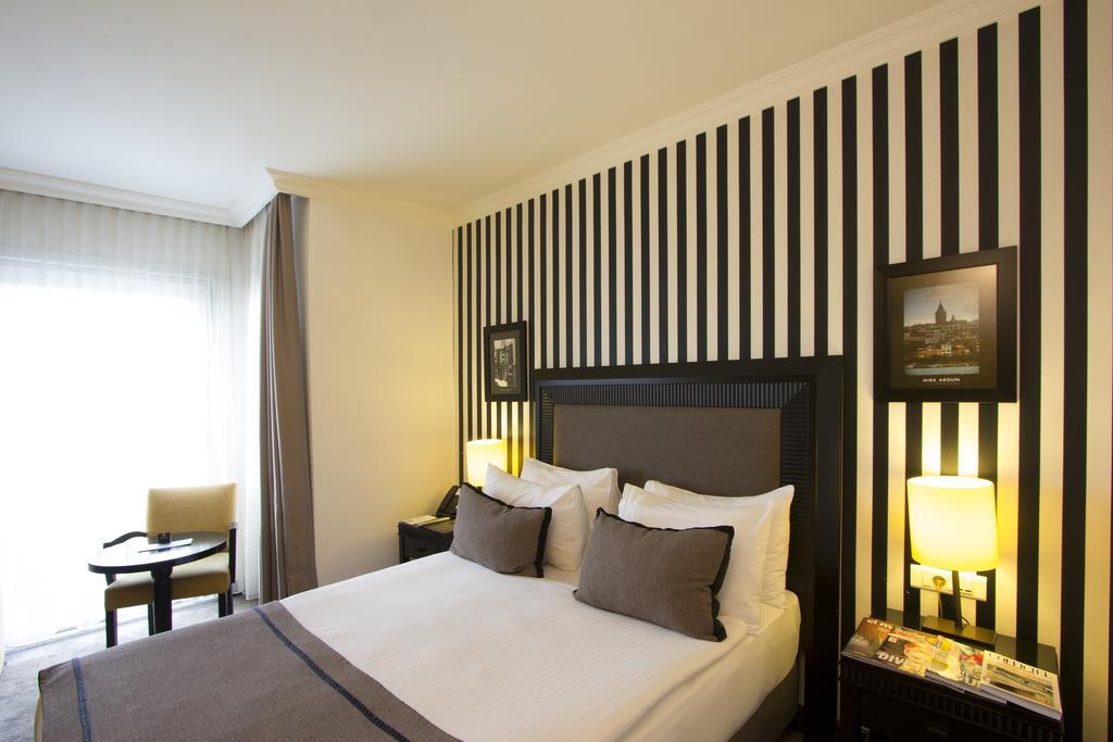اتاق های هتل آوانته گارد استانبول