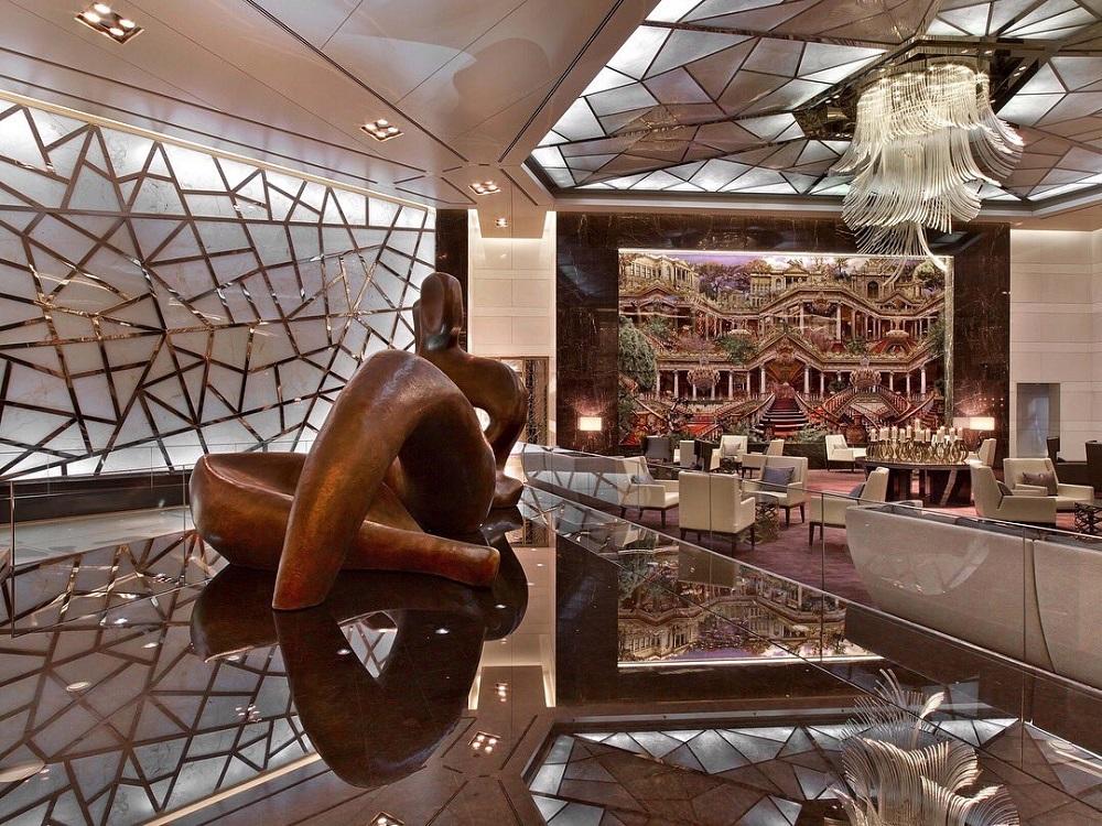 هتل رافلز در مرکز خرید زورلو استانبول