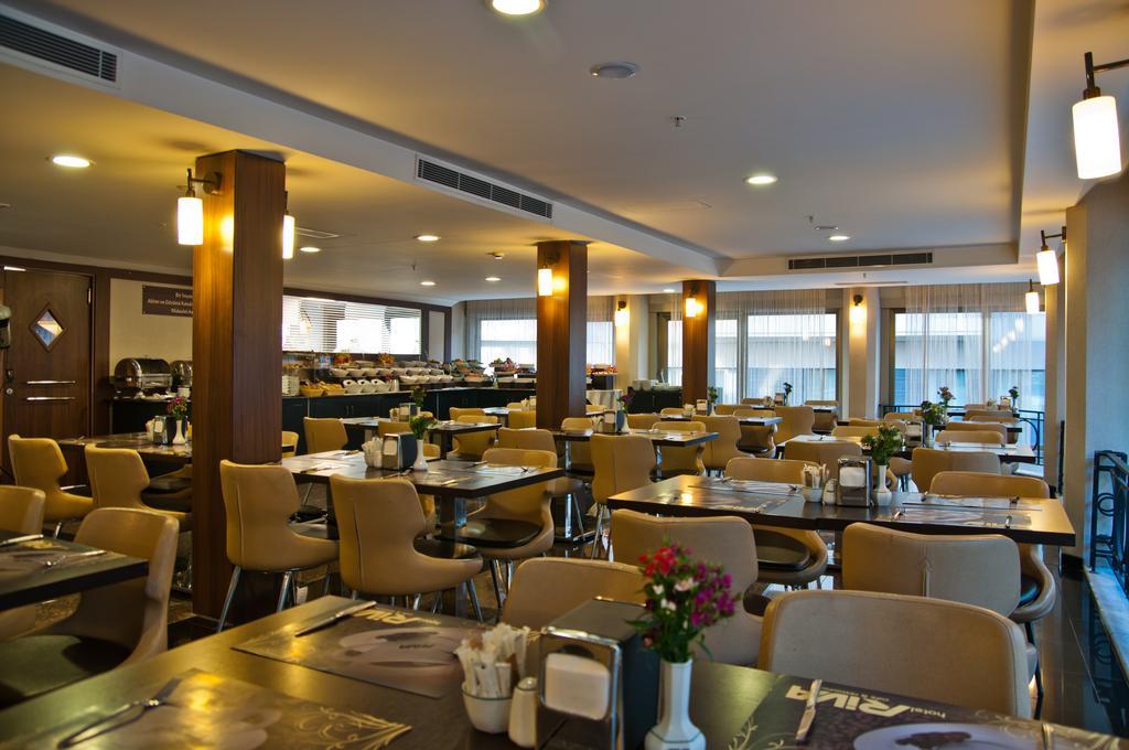 رستوران ها و امکانات رفاهی هتل ریوا استانبول
