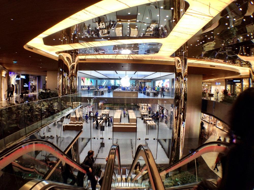 فروشگاه ها و مغازه های مرکز خرید زورلو استانبول