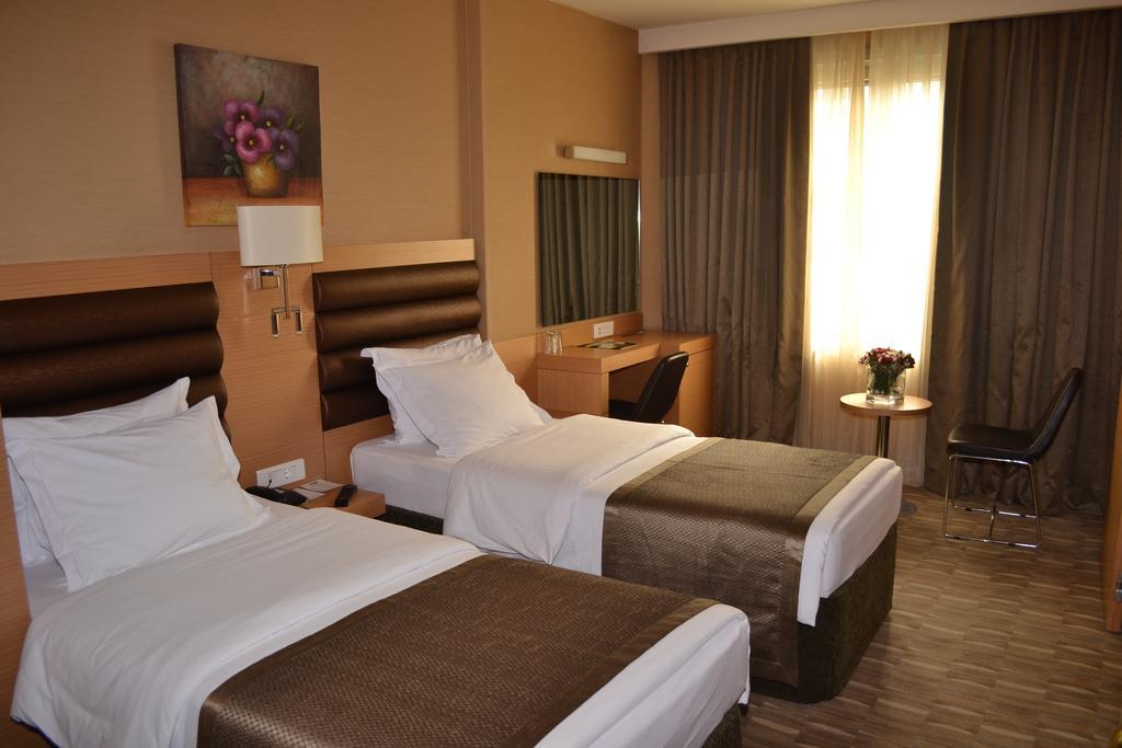 اتاق های هتل ریوا استانبول