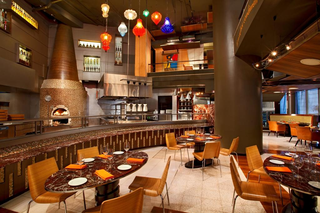رستوران ها و امکانات رفاهی هتل وستین کوالالامپور مالزی
