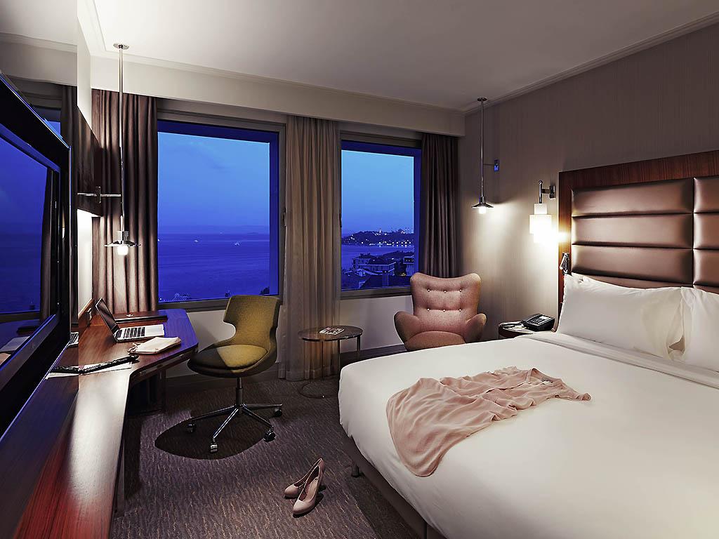 اتاق های هتل مرکور تکسیم استانبول