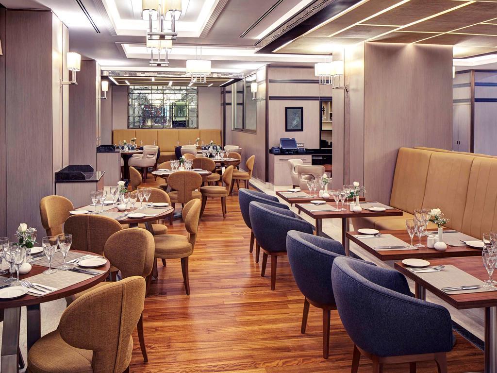 رستوران ها و امکانات رفاهی هتل مرکور تکسیم استانبول