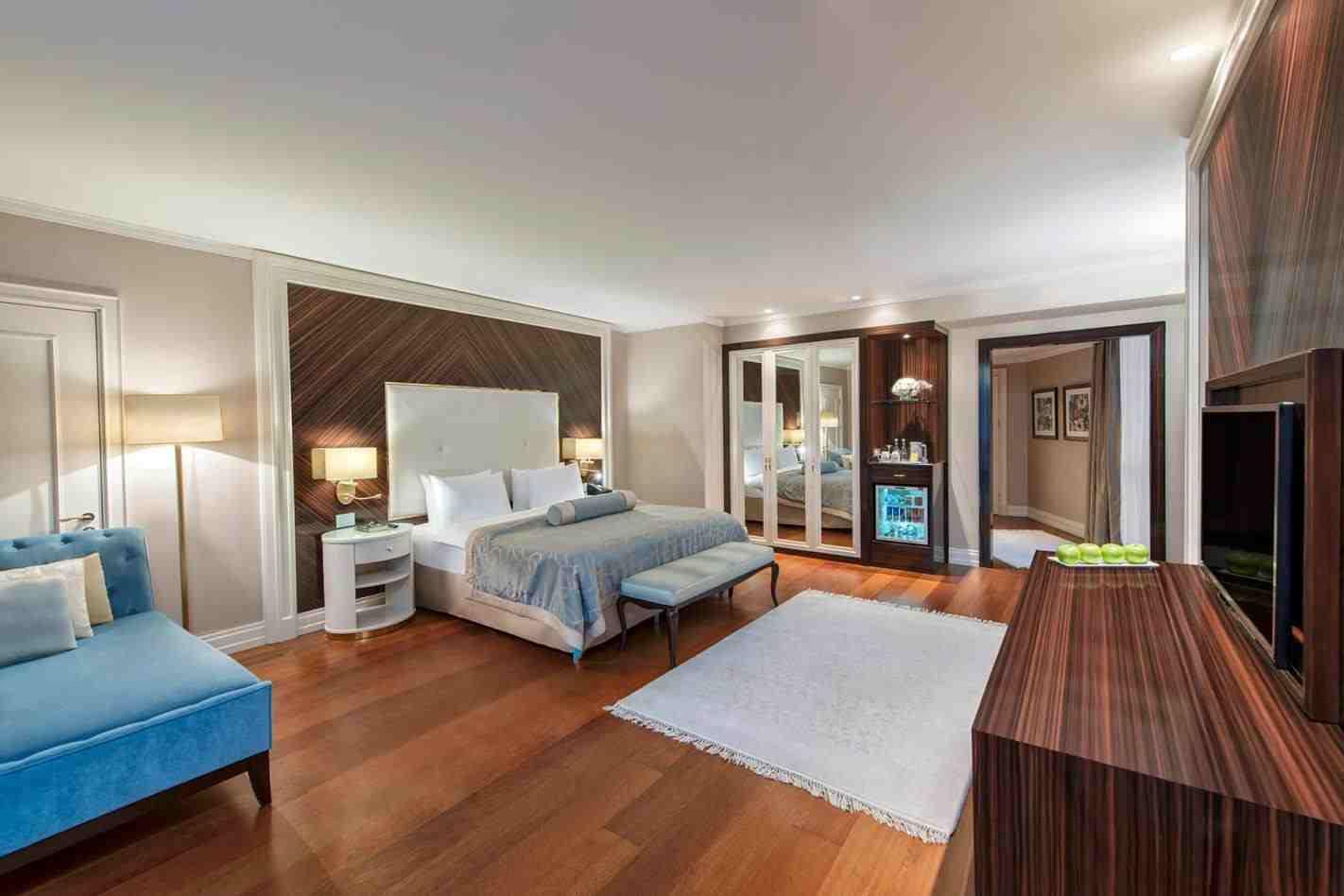 اتاق های هتل یورو پلازا استانبول
