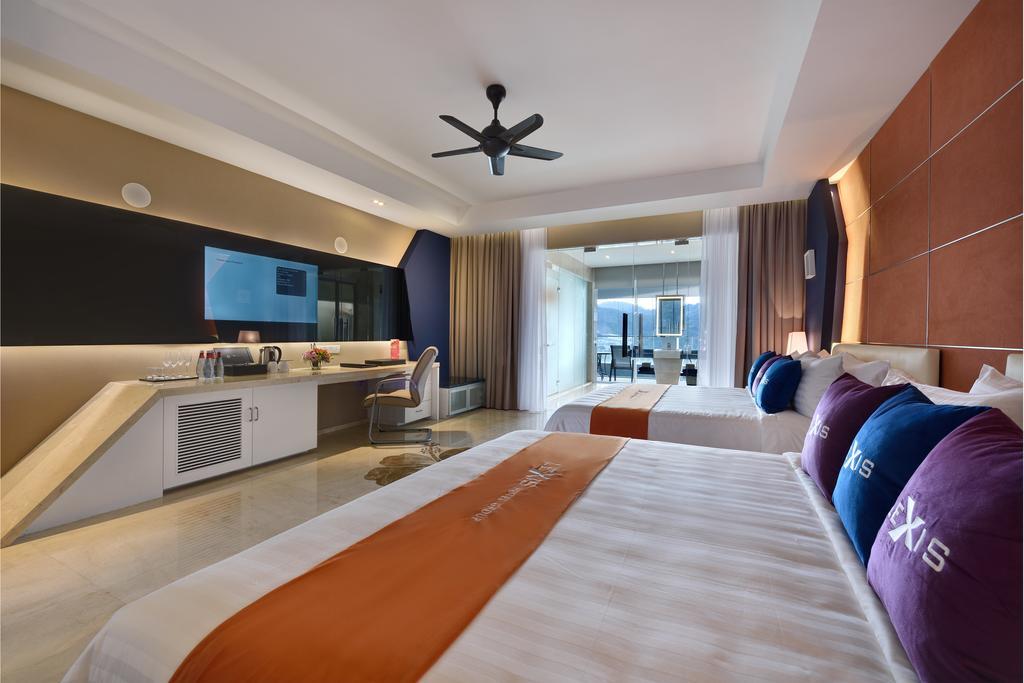 اتاق های هتل لکسیس سوئیت پنانگ