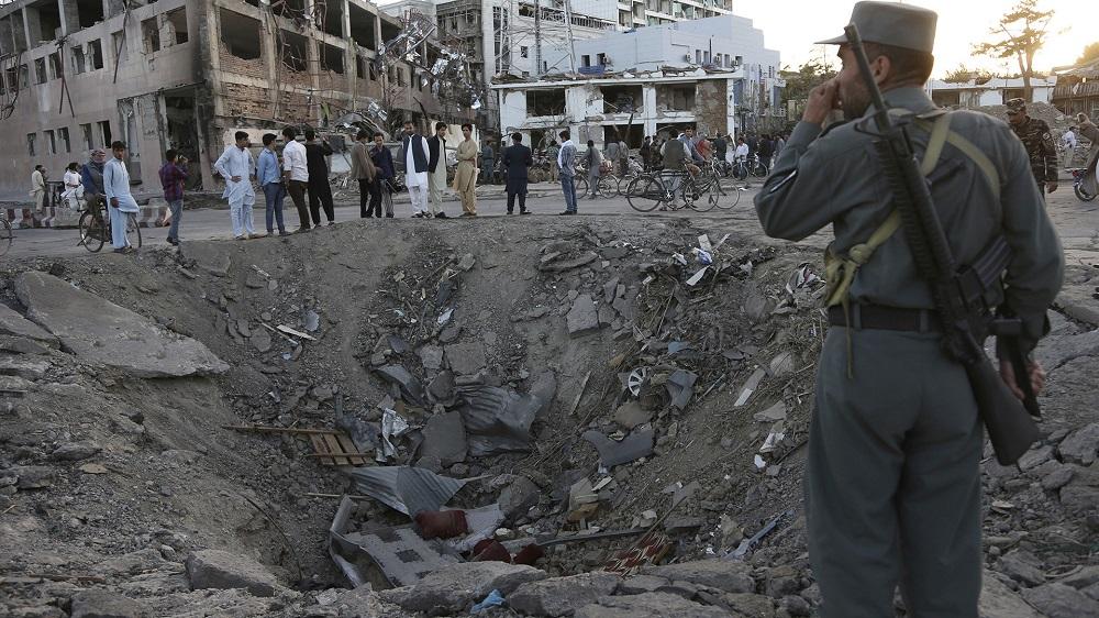 شهر کابل در افغانستان