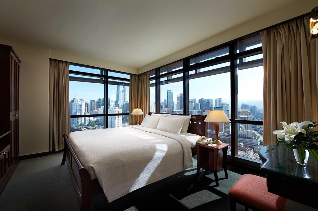 اتاق های هتل برجایا تایمز اسکوئر ، کوالالامپور مالزی