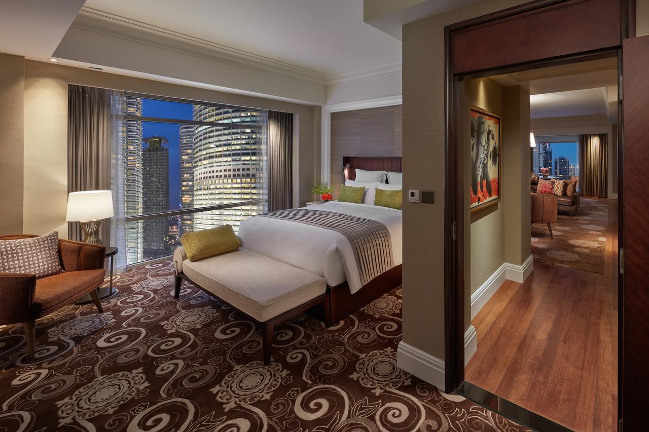 اتاق های هتل مندرین اورینتال کوالالامپور