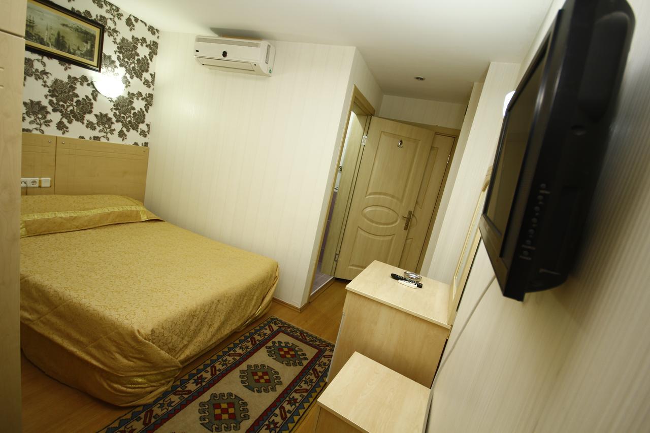 اتاق های هتل کالیفرنیا استانبول