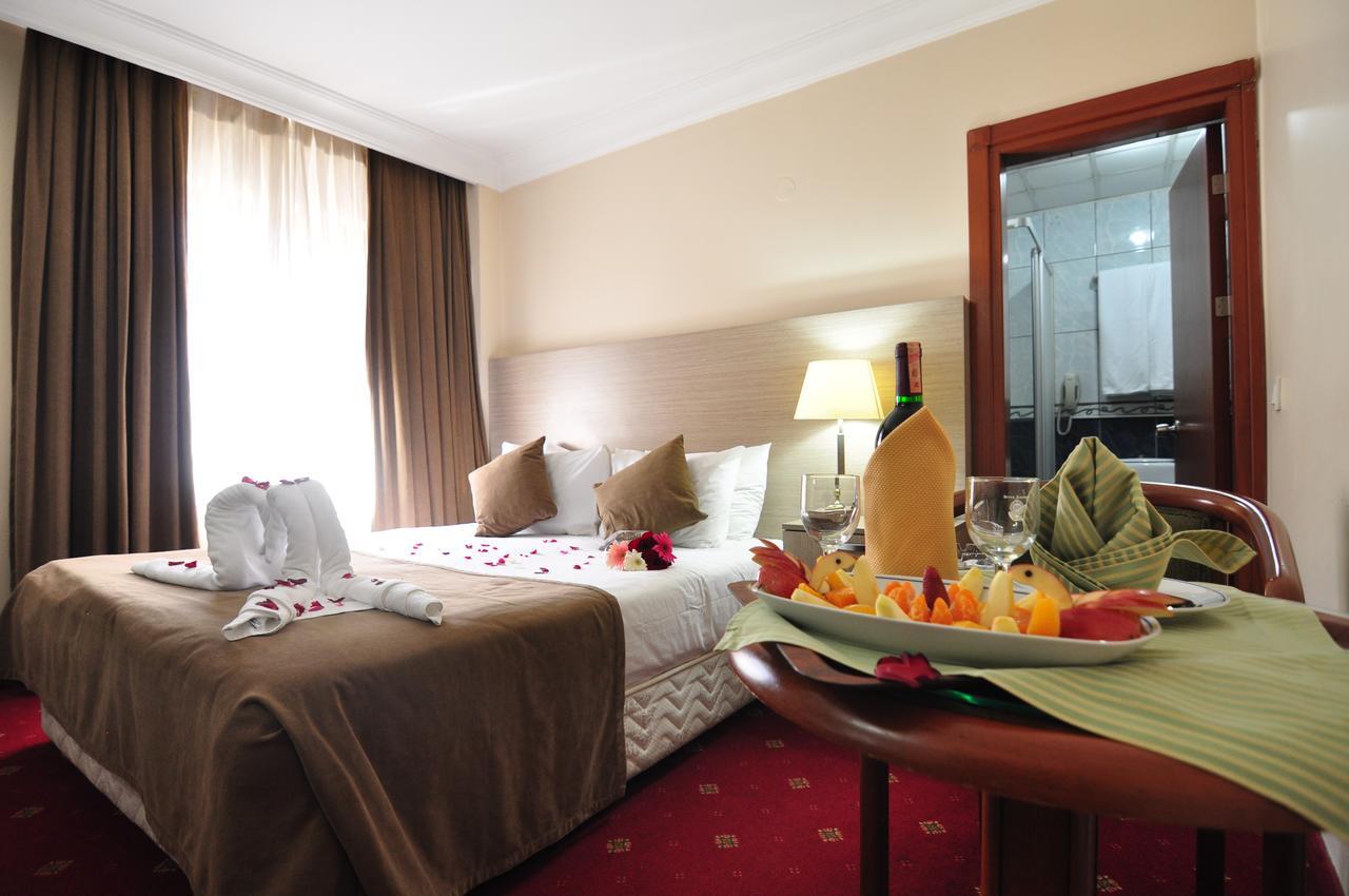 اتاق های هتل بیوک سهینلر استانبول