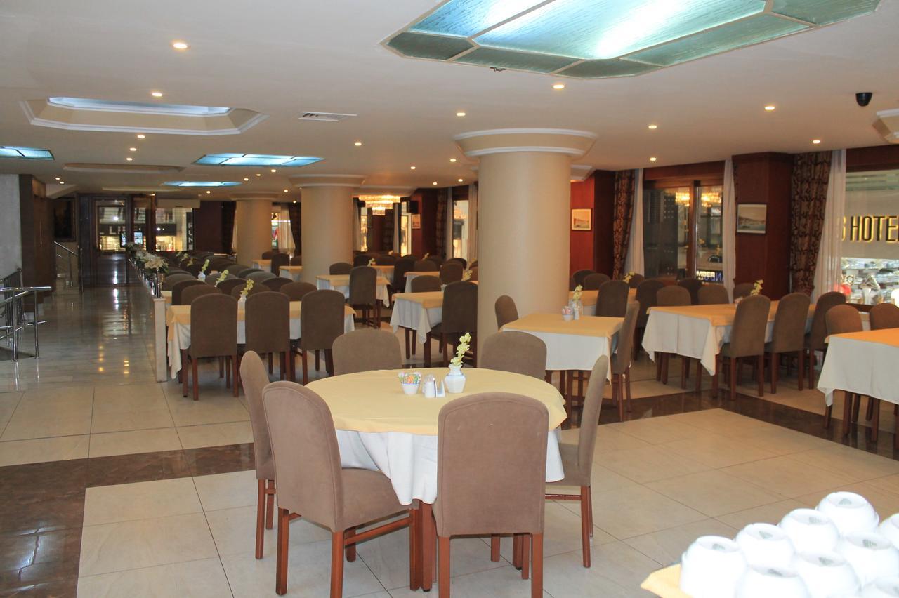 امکانات رفاهی و رستوران های هتل بیوک سهینلر استانبول