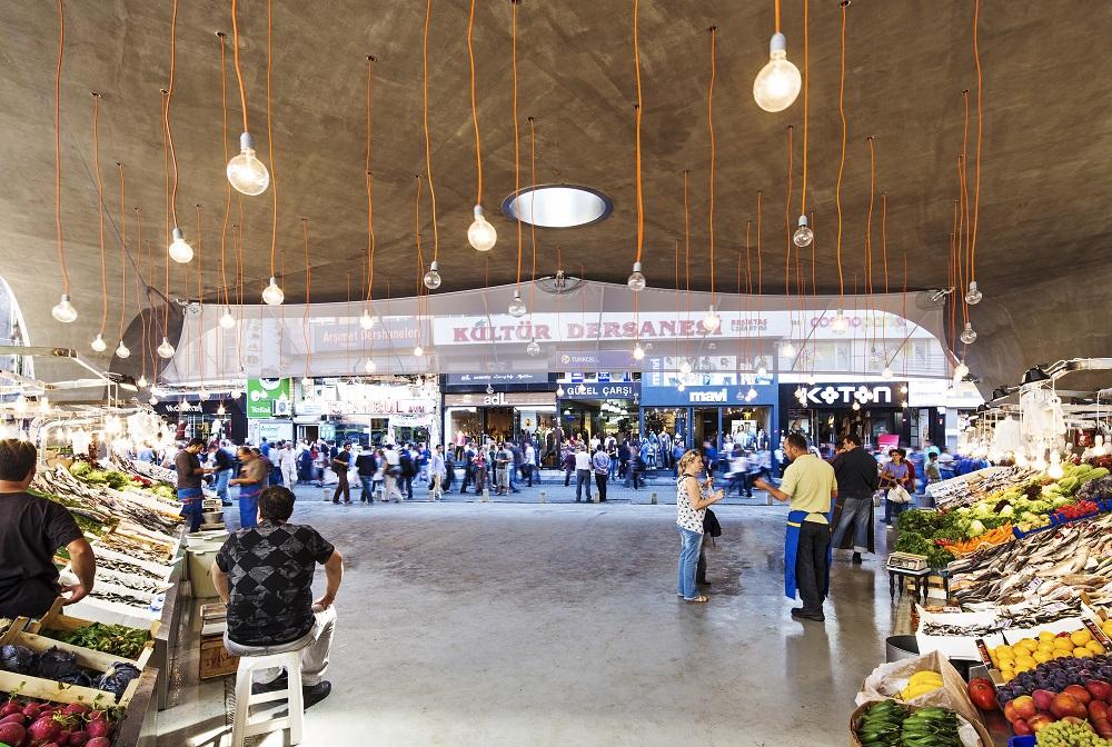 بازار بشیکتاش در استانبول