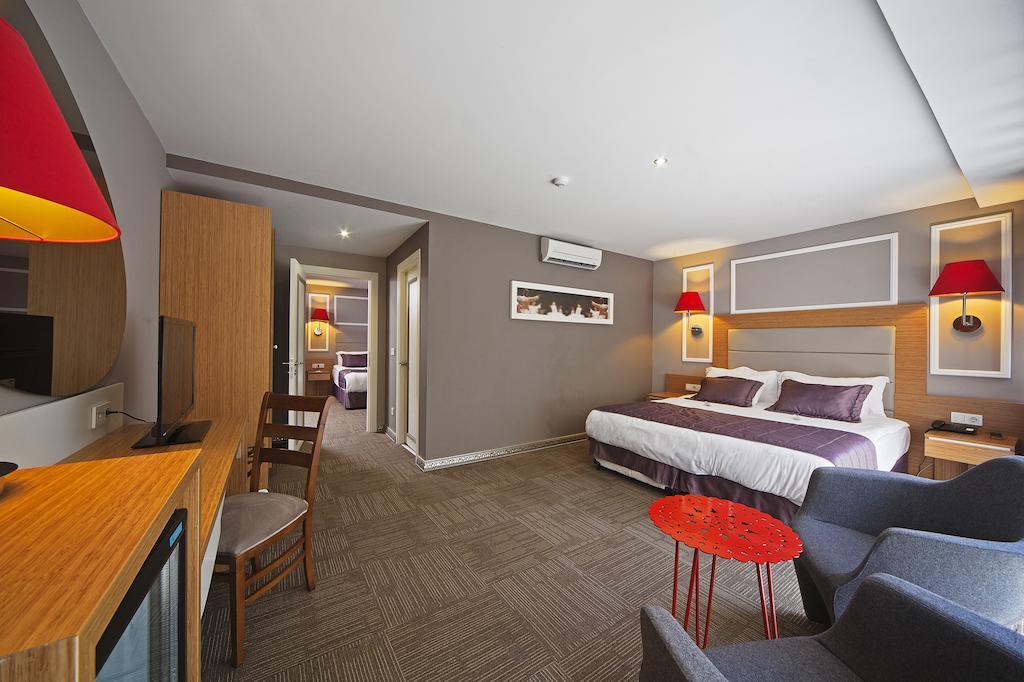 اتاق های هتل آل سیزن استانبول