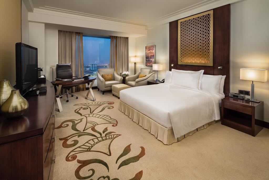 اتاق های هتل کنراد دبی