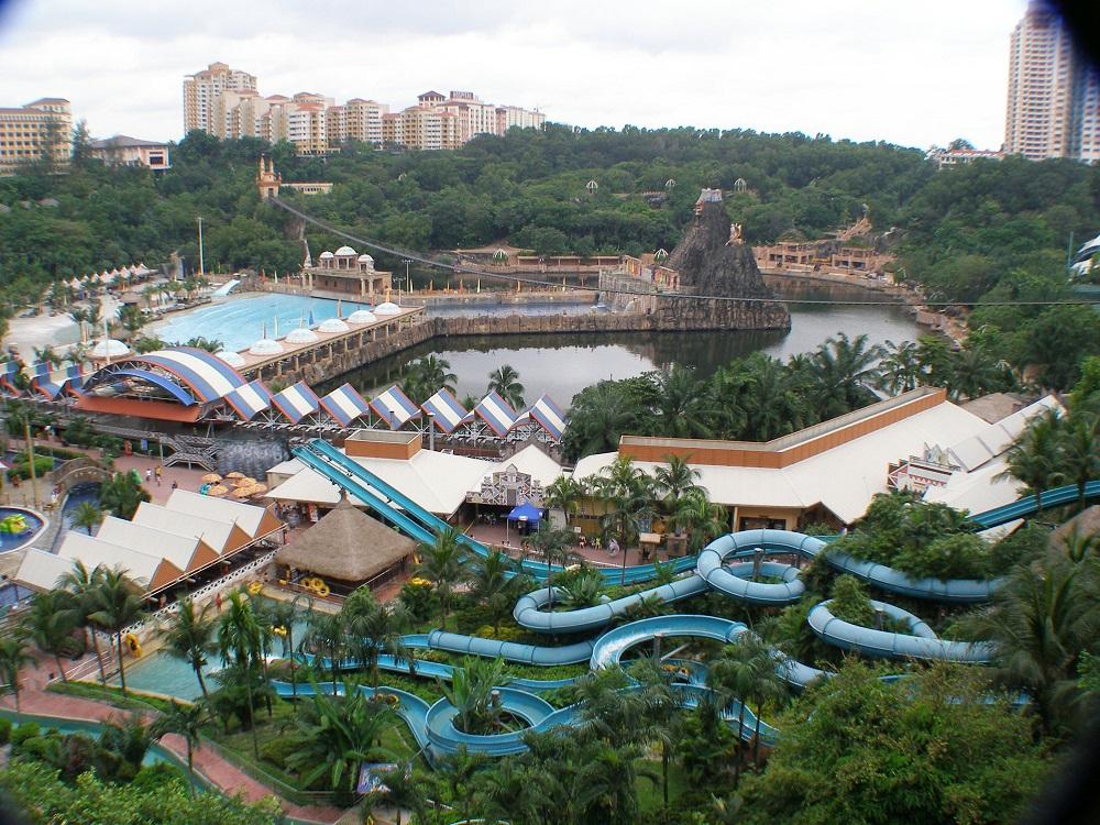 منطقه تفریحی سان وی لاگون کوالالامپور