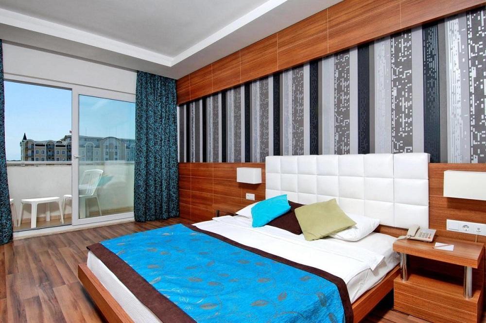 اتاق های هتل مایا ورلد بلک آنتالیا
