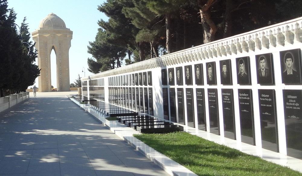 خیابان شهیدان در باکو