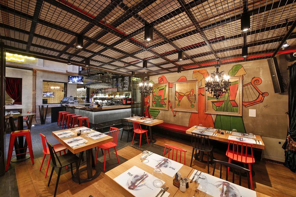 رستوران ها و امکانات رفاهی هتل اکسیدنتال پابلیک استانبول