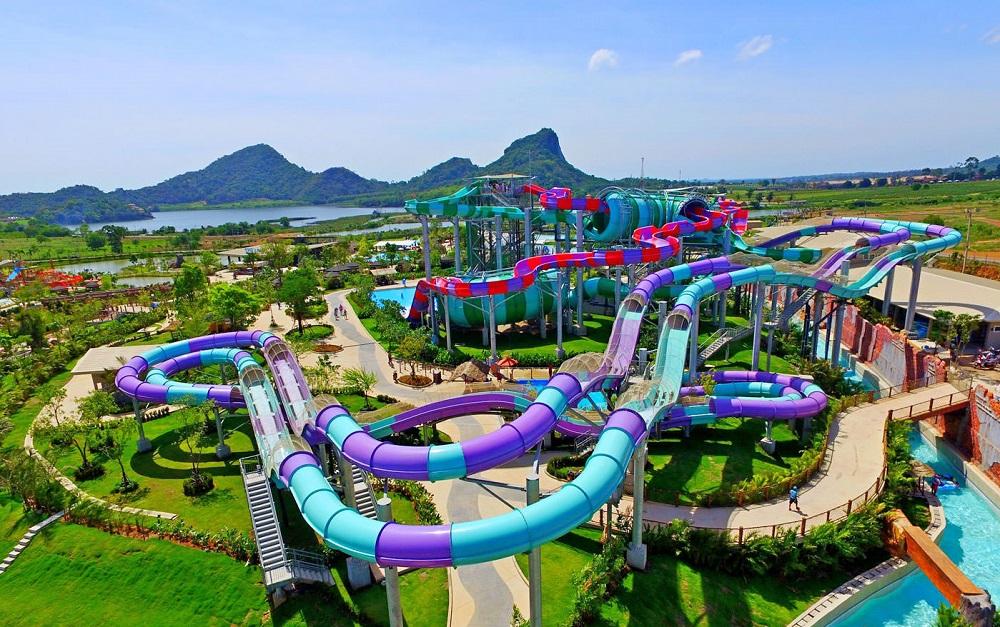 امکانات تفریحی پارک آبی رامایانا پاتایا