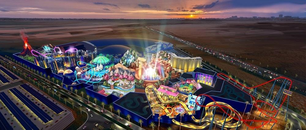 گذراندن روزی هیجان انگیز در بزرگترین پارک تفریحی دنیا در دبی