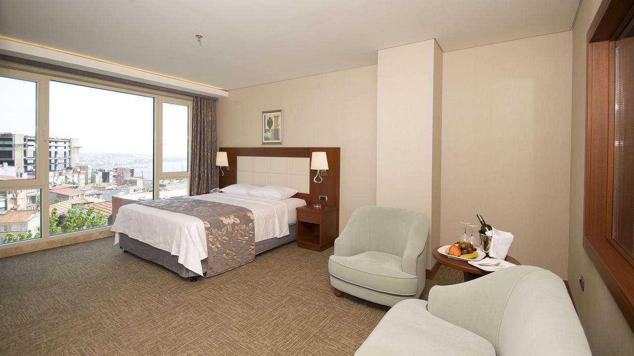 اتاق های هتل اینپرا استانبول
