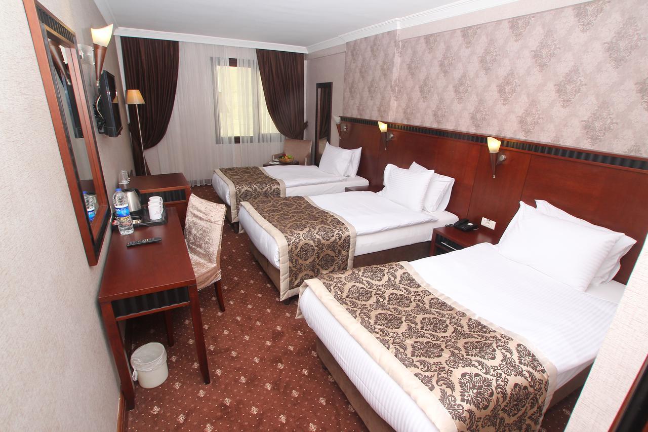 اتاق های هتل نوا پلازا کریستال استانبول