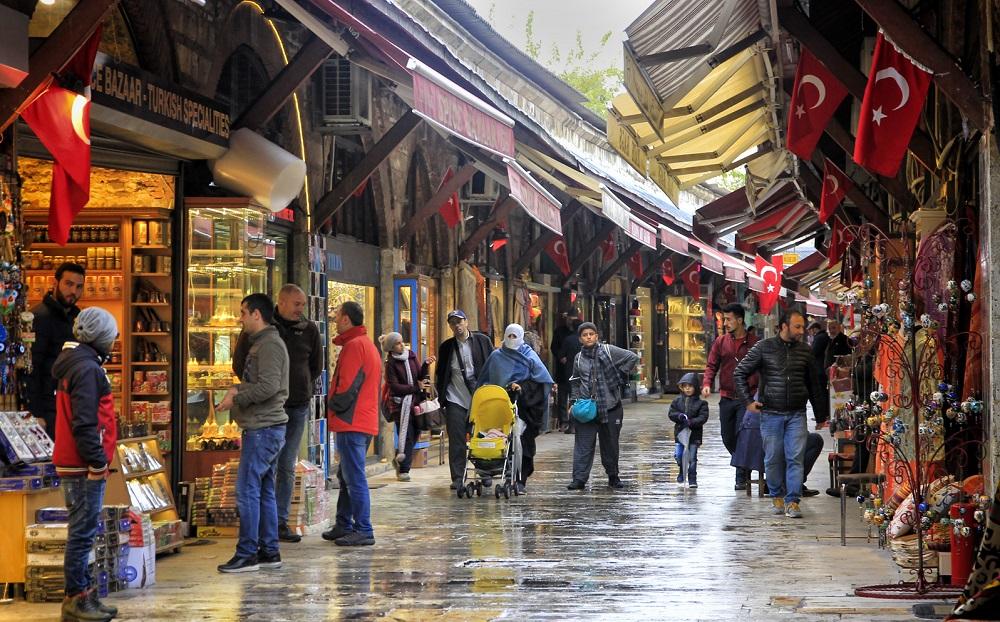مغازه های بازار آراستا استانبول