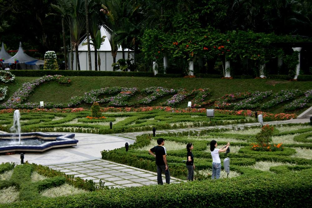 باغ بوتانیکال پردانا کوالالامپور