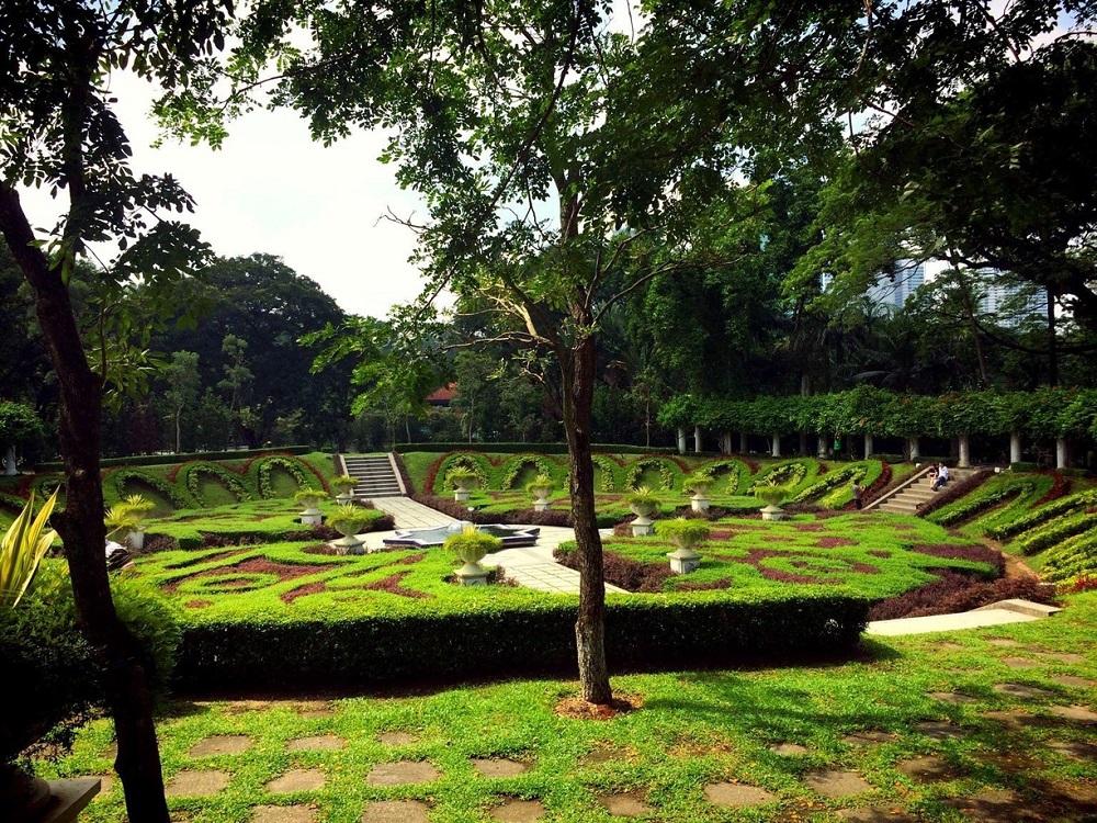 دسترسی های نزدیک به باغ بوتانیکال پردانا کوالالامپور