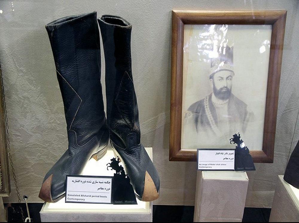 قسمت های اصلی آرامگاه نادرشاه افشار در مشهد