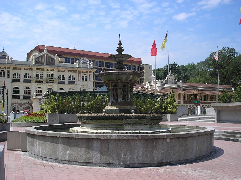 اعلام استقلال مالزی در میدان مردکا کوالالامپور