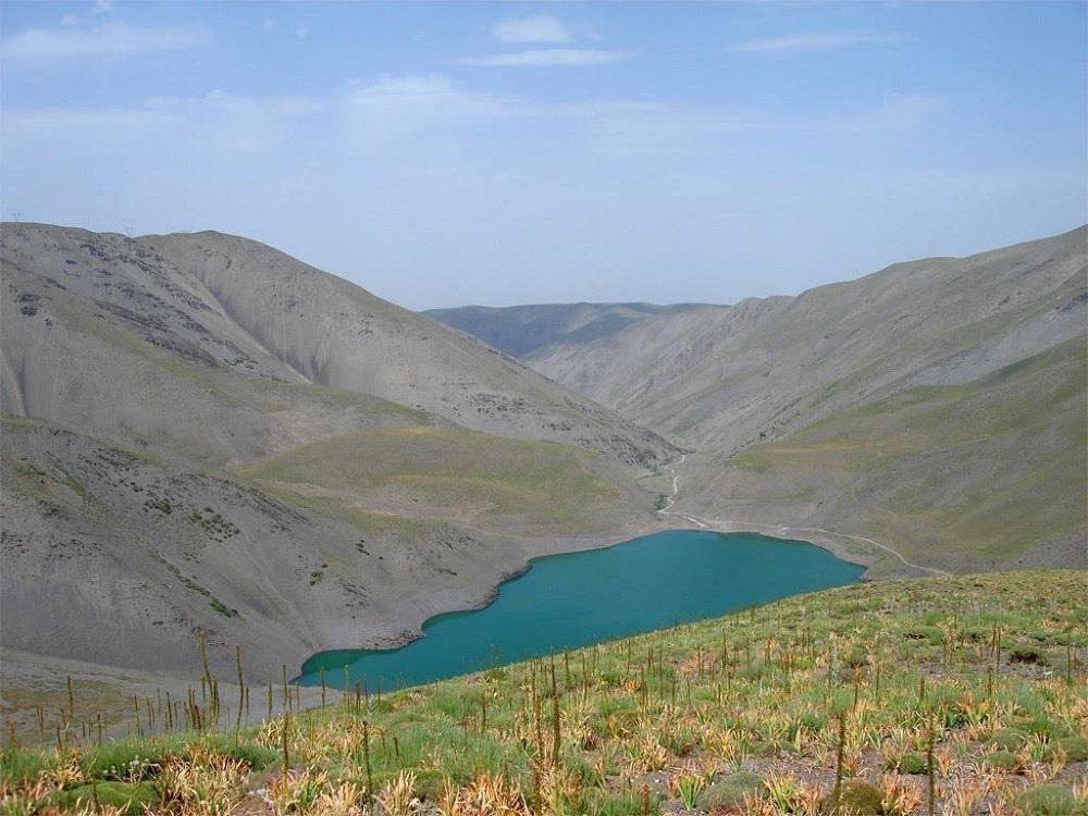 دریاچه چشمه سبز مشهد
