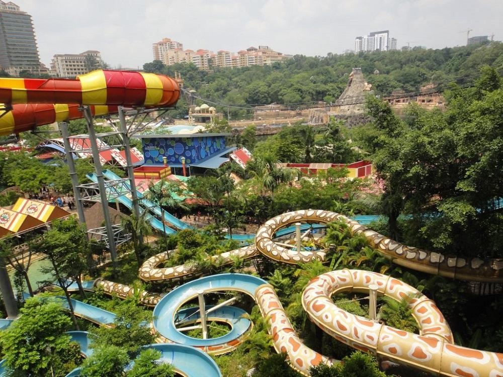 پارک آبی سان وی لاگون مالزی