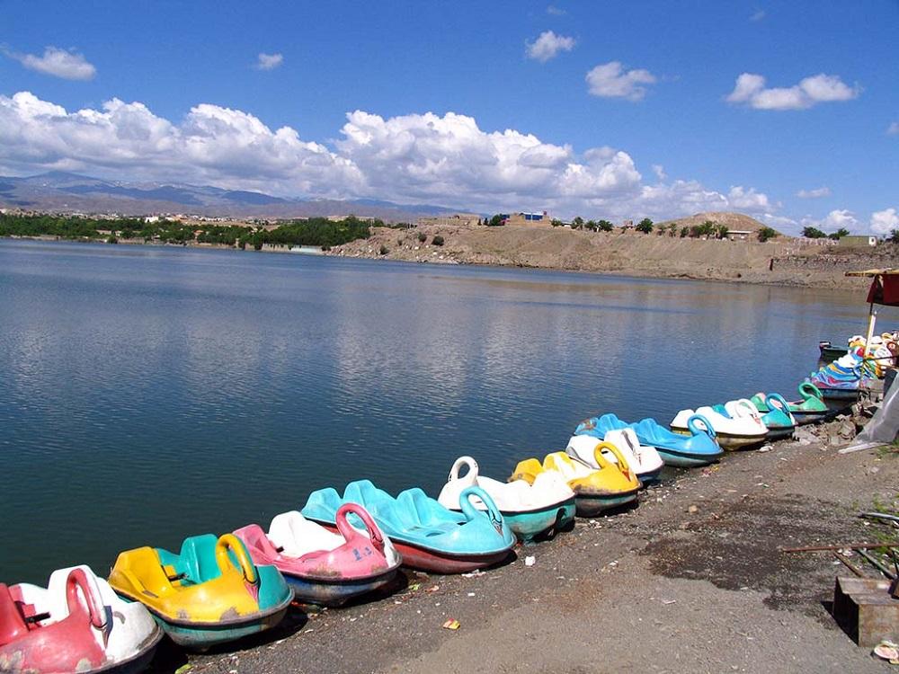 امکانات رفاهی در اطراف بند گلستان مشهد