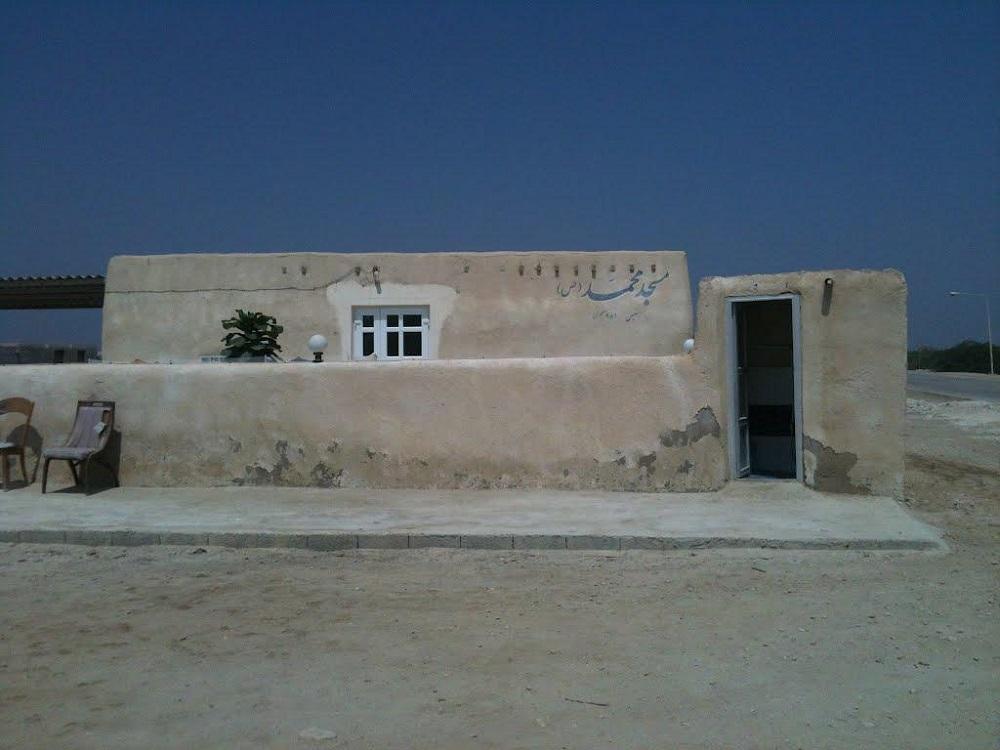 مسجد تاریخی روستای باغو کیش