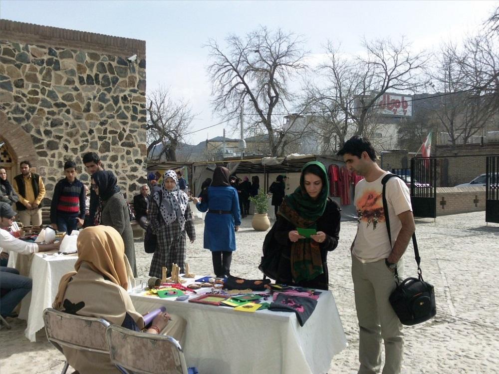موزه رباط ویرانی در ییلاق شاندیز