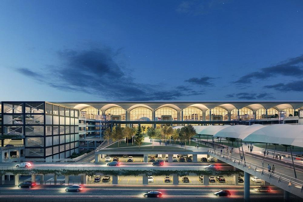 معماری و طراحی این فرودگاه