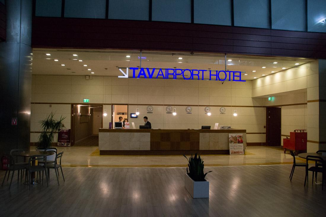 بزرگ ترین هتل فرودگاهی جهان