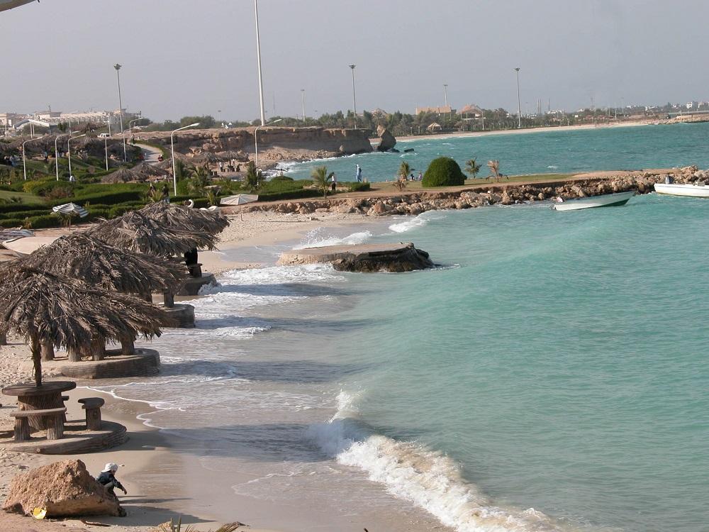 ساحل کلبه هور جزیره کیش