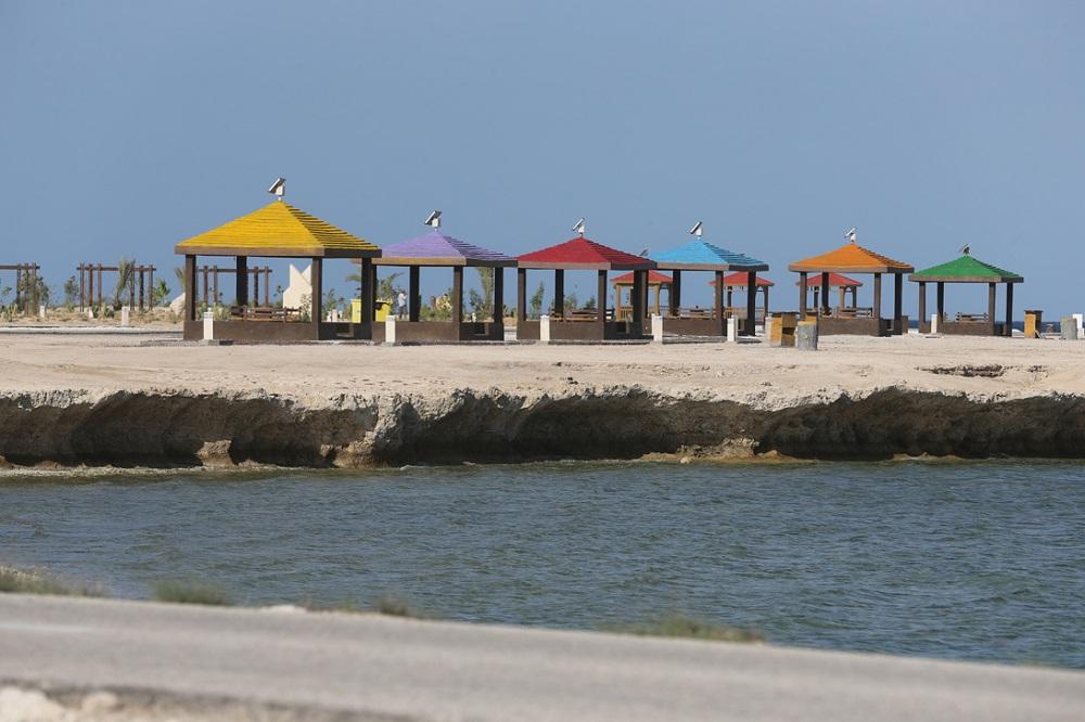 امکانات رفاهی ساحل کلبه هور جزیره کیش