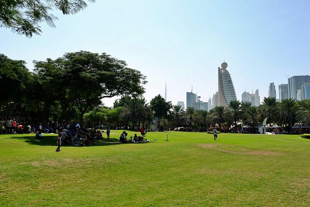 امکانات تفریحی در پارک نهر دبی