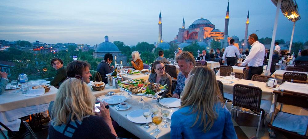 رستوران های منطقه سلطان احمد استانبول